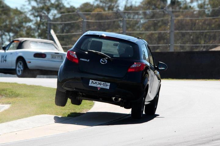 Mazda 2 at eastern creek sydney motor sport park for Eastern motors used car